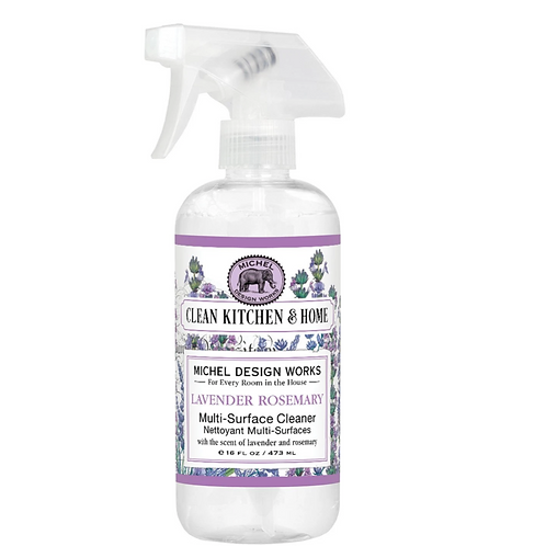 LAVENDER ROSEMARY | MULTI SURFACE CLEANER | MICHEL DESIGN WORKS