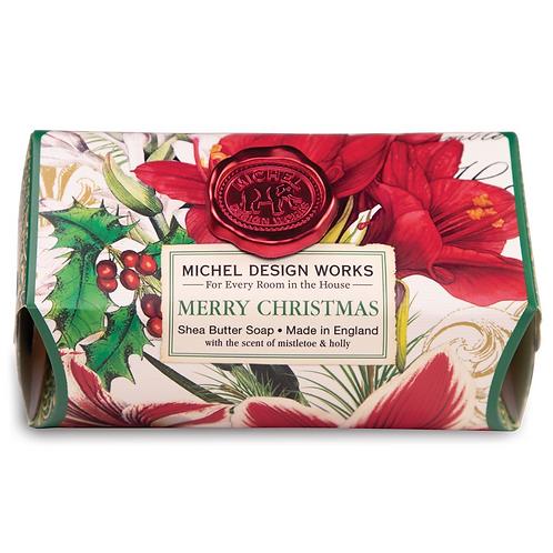 MERRY CHRISTMAS | BAR SOAP  | MICHEL DESIGN WORKS