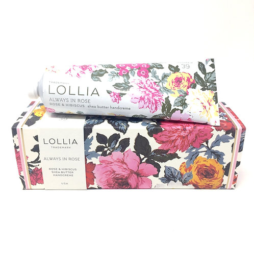 ALWAYS IN ROSE HAND CREAM - LOLLIA
