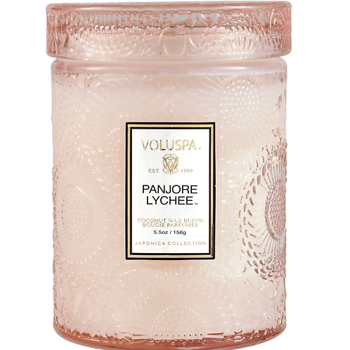 PANJORE LYCHEE | SMALL JAR CANDLE | VOLUSPA