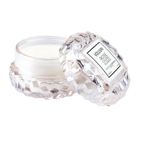 ROSE COLOURED GLASSES | MACARON CANDLE | VOLUSPA