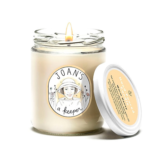 WARM HONEY | HAND POURED CANDLE  | JOAN'S A KEEPER