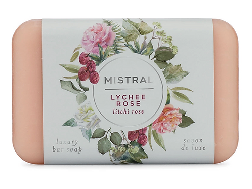 LYCHEE ROSE | BAR SOAP CLASSIC COLLECTION | MISTRAL