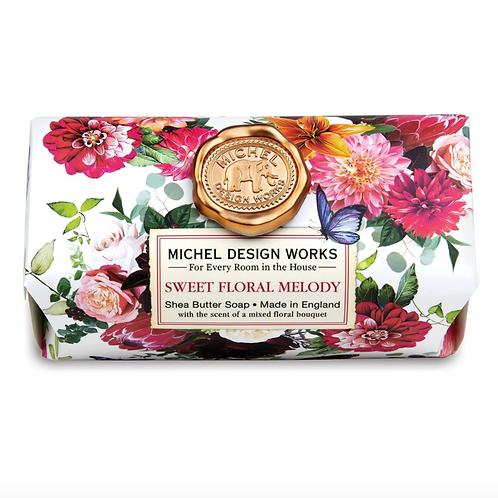 SWEET FLORAL MELODY | BAR SOAP  | MICHEL DESIGN WORKS
