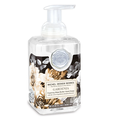 GARDENIA | FOAMING HAND SOAP | MICHEL DESIGN WORKS