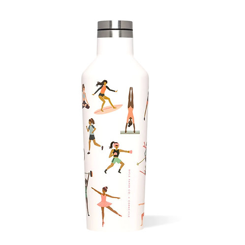 SPORTS GIRLS - CANTEEN | CORKCICLE x RIFLE PAPER CO.