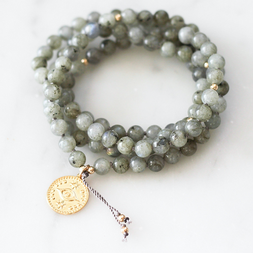 PROTECT | PENDANT MALA NECKLACE  | THE BEAUTIFUL NOMAD