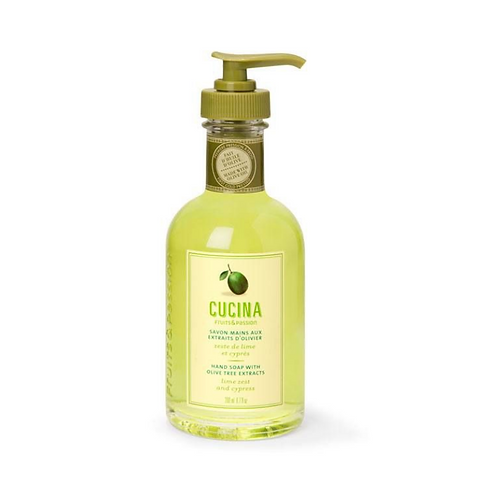 LIME ZEST + CYPRESS | SMALL LIQUID SOAP | CUCINA