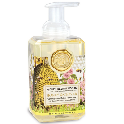 HONEY & CLOVER | FOAMING HAND SOAP | MICHEL DESIGN WORKS