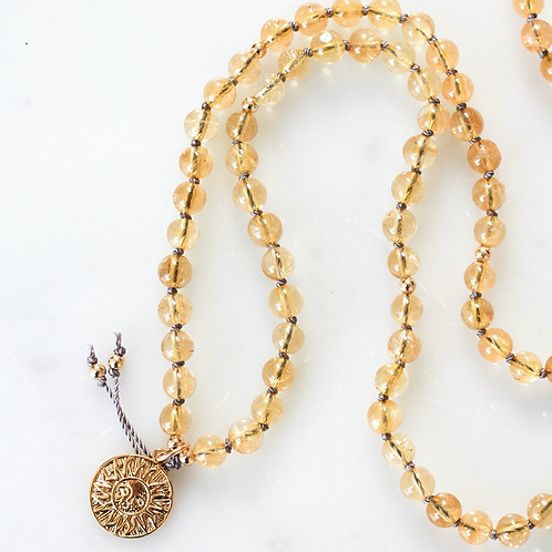 ABUNDANCE | PENDANT MALA NECKLACE  | THE BEAUTIFUL NOMAD