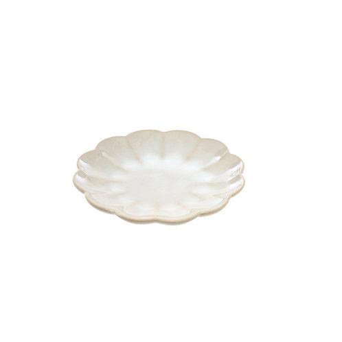 AMELIA PLATE, SMALL - WHITE