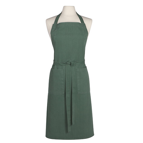 STONEWASHED APRON  | JADE | DANICA HEIRLOOM