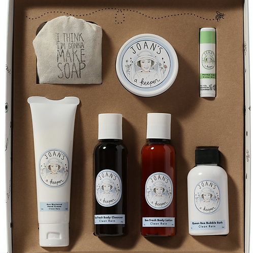 CLEAN RAIN | WANDERING BEE GIFT SET  | JOAN'S A KEEPER