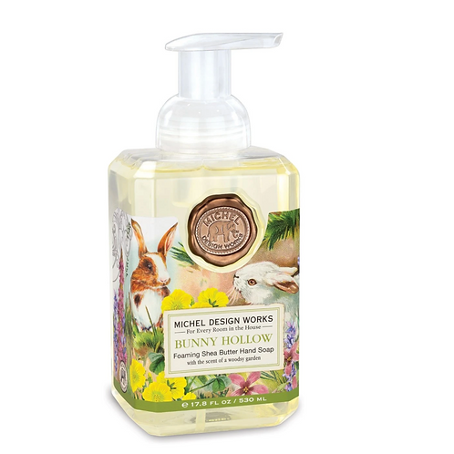 BUNNY HOLLOW | FOAMING HAND SOAP | MICHEL DESIGN WORKS