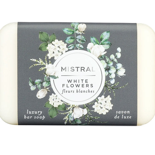 WHITE FLOWERS | BAR SOAP CLASSIC COLLECTION | MISTRAL
