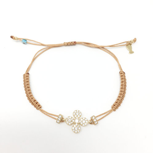 LUCKY ONE, MACRAME BRACELET - HOUSE OF MODA
