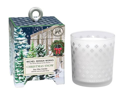 CHRISTMAS SNOW | SOY WAX CANDLE | MICHEL DESIGN WORKS