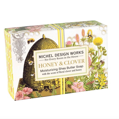 HONEY & CLOVER | BOXED SOAP | MICHEL DESIGN WORKS