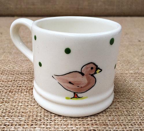 Expresso mug - little green spot