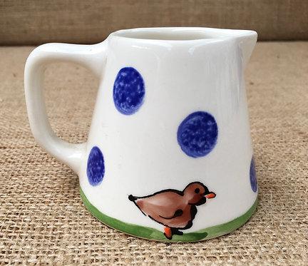 Milk jug - blue spot