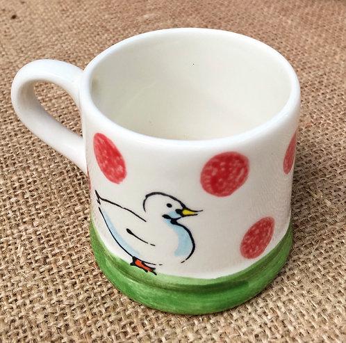 Expresso mug - red spot