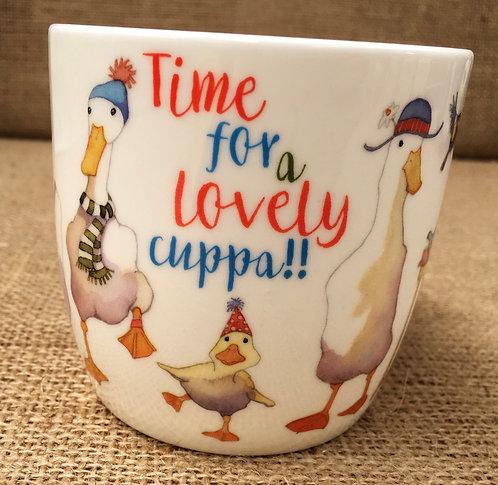 Emma Ball 'Time for a cuppa' mug
