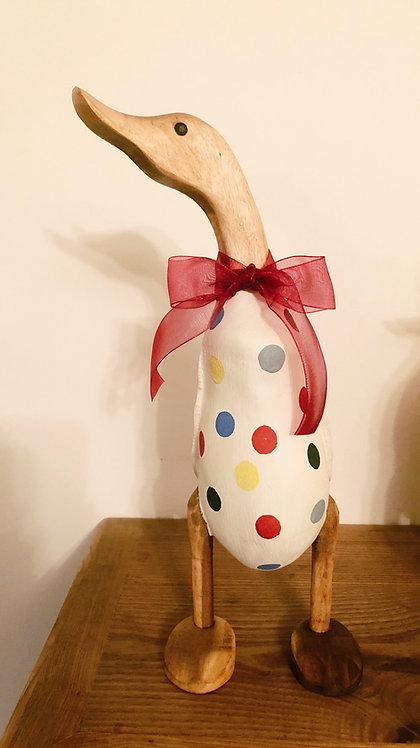 Emma Bridgewater Inspired Polka dot duck