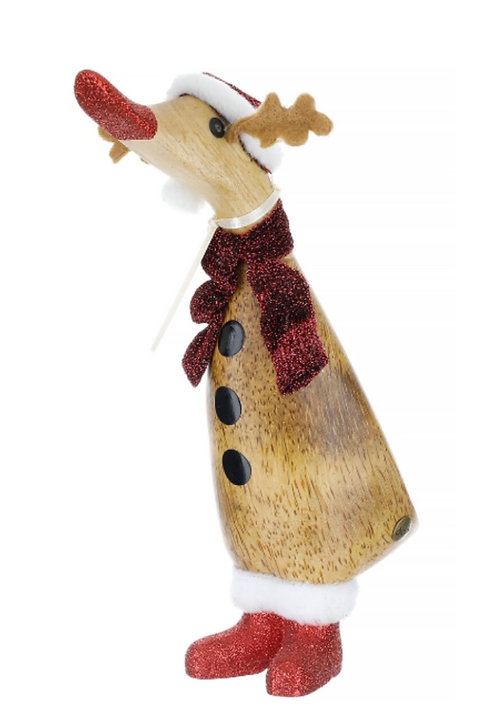 DCUK Reindeer Duckling (red)