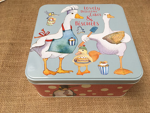Biscuits & Cake Tin