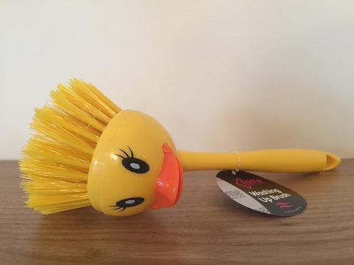 Duck washing up brush
