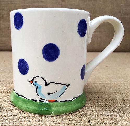Mug - blue spot