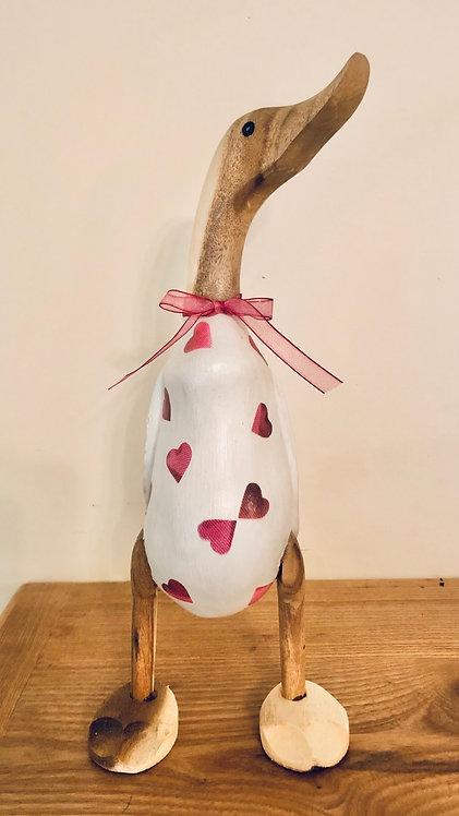 Love heart duck (Emma Bridgewater inspired)