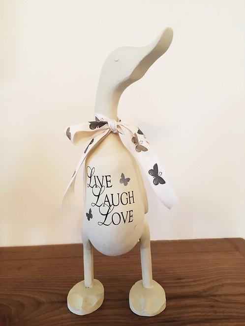 Live Laugh Love Duck
