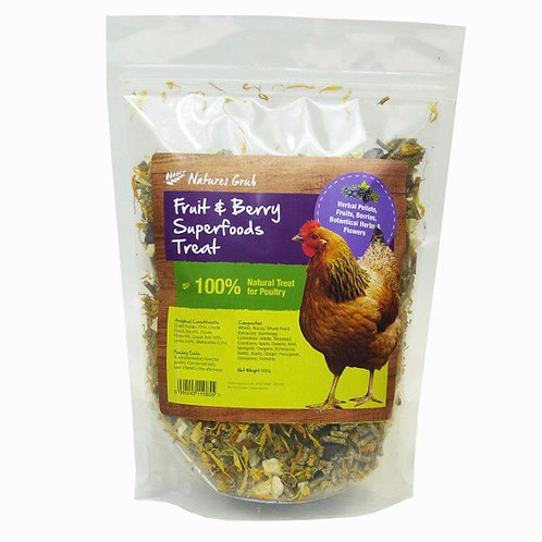 Nature's Grub Fruit & Berry Superfoods Treat 600g