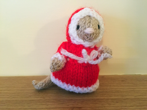 Mrs Clause Church Mouse