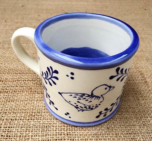Mug - blue pattern