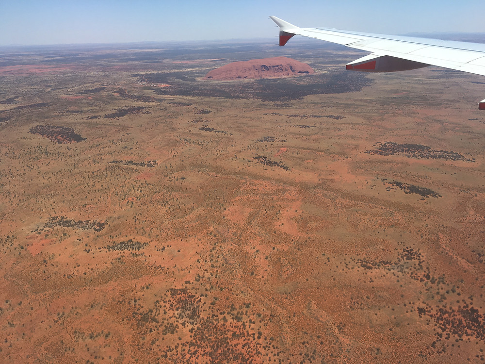 The red sea and the Mighty Uluru