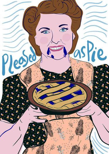 Pleased as Pie