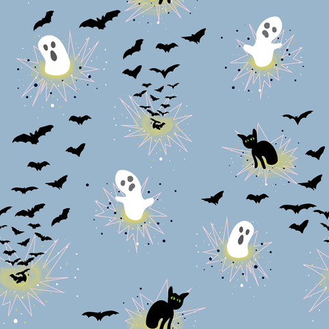 Ghosts, Cats, and Bats, Oh My!