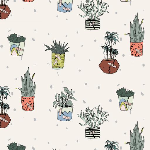 Injured Plants