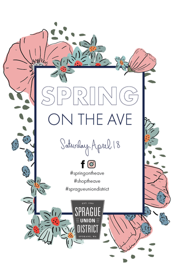Spring in the Ave