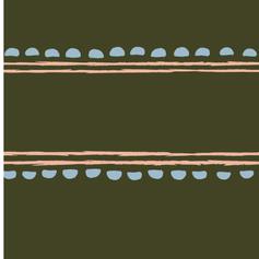 Southwest Stripe Green