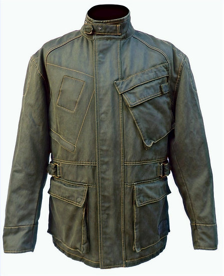 SULBY WAXED COTTON JACKET
