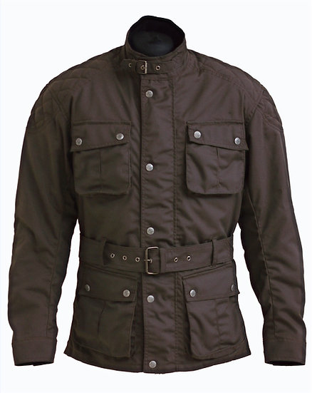 ARROW WAXED COTTON JACKET