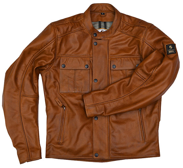 GANGSTER LEATHER JACKET