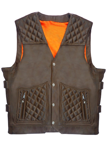 ICON LEATHER VEST