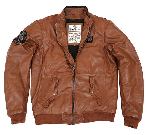 COCKPIT LEATHER JACKET