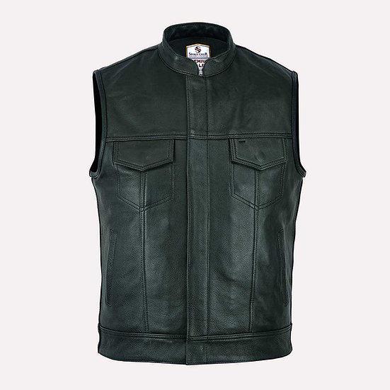 Harvey leather vest