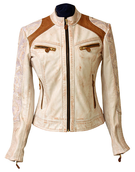 CRAVE LADY LEATHER JACKET