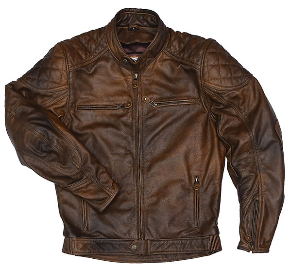 Nickel Leather Jacket